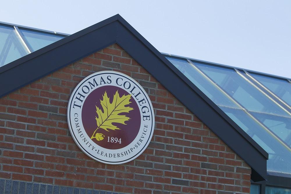 Thomas College Signage