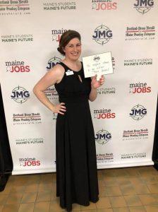 Katherine Wood at JMG gala