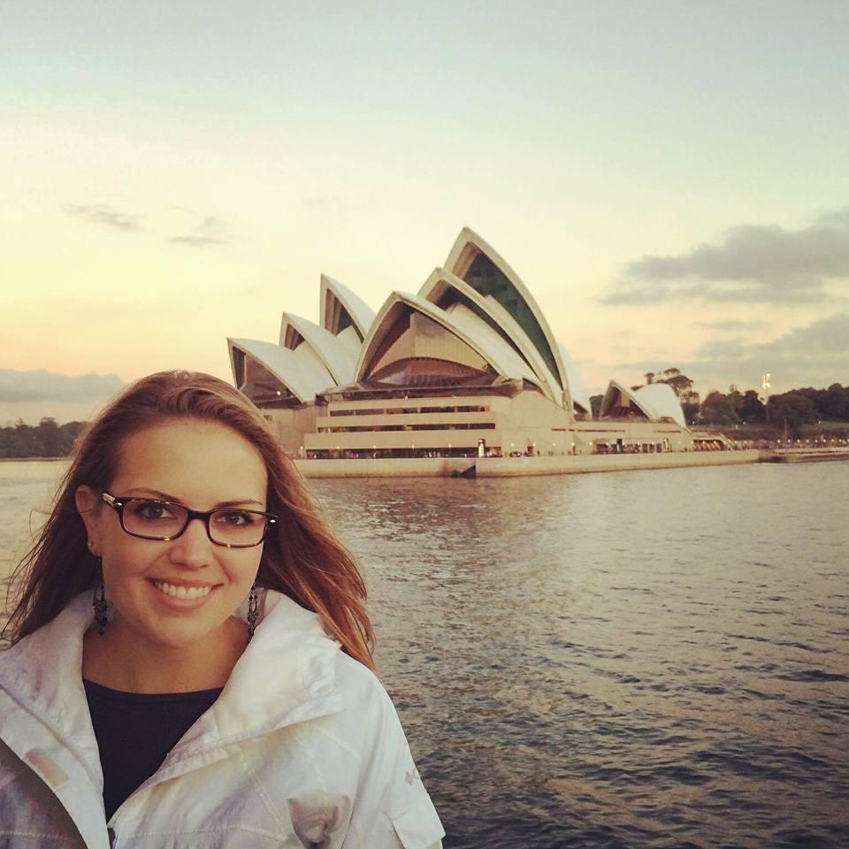 Whitney Raymond in Sydney Australia